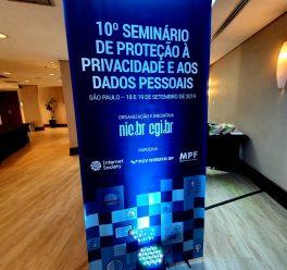 ConsulData participa do 10º Seminário de Proteção à Privacidade e aos Dados Pessoais em São Paulo