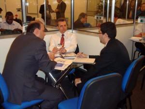 Representantes da ConsulData prospectaram negócios no evento
