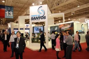 O Porto de Santos foi um dos expositores do evento