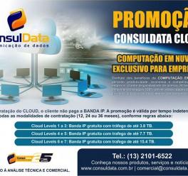 Promoção no ConsulData Cloud: Computação em Nuvem exclusivo para empresas de todos os portes