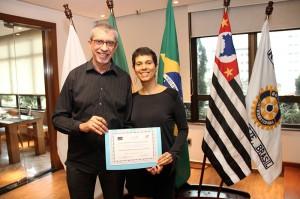 O casal Luis Carlos Tenório e Rachel representou a ConsulData no evento